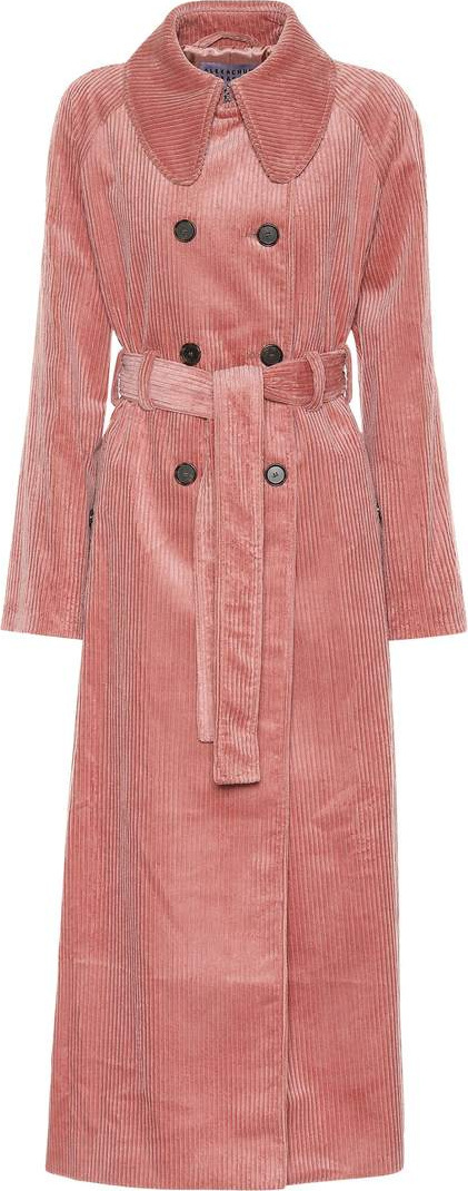Alexachung Corduroy trench coat