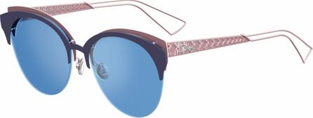 Dior Diorama Club Metal Sunglasses