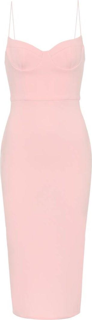 Alex Perry Avery stretch-crêpe midi dress