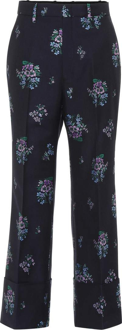 Gucci Flowers fil coupé pants