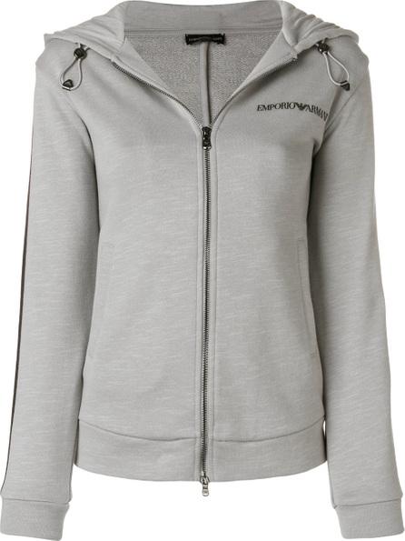 Emporio Armani Side stripe hoodie