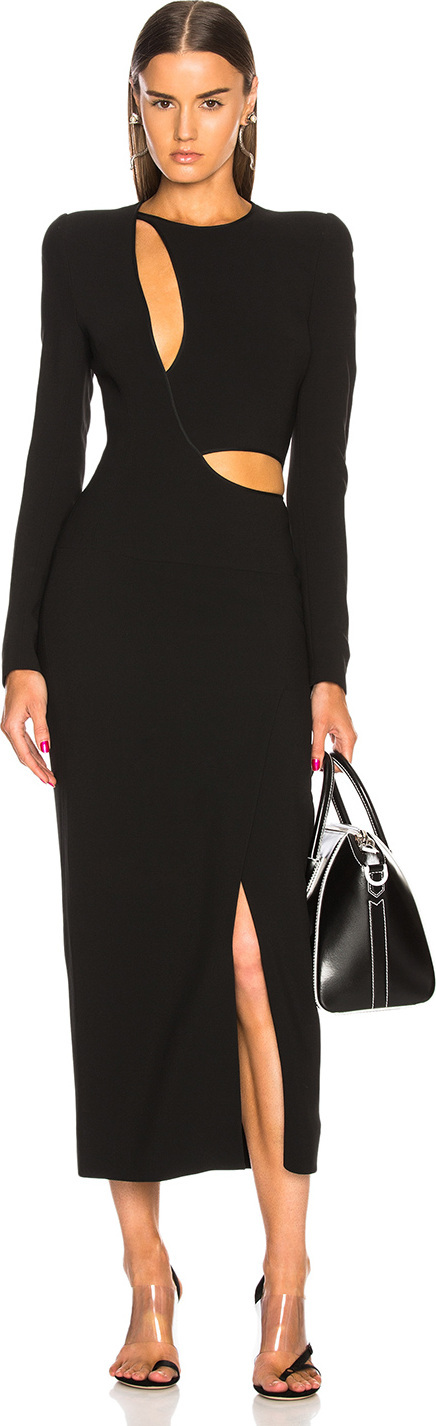 Haider Ackermann Cut Out Dress