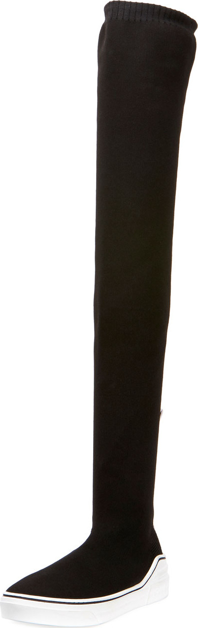 Givenchy George V Over-the-Knee Sneaker Boots