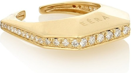 Eera Sabrina 18kt yellow-gold ear cuff with diamonds