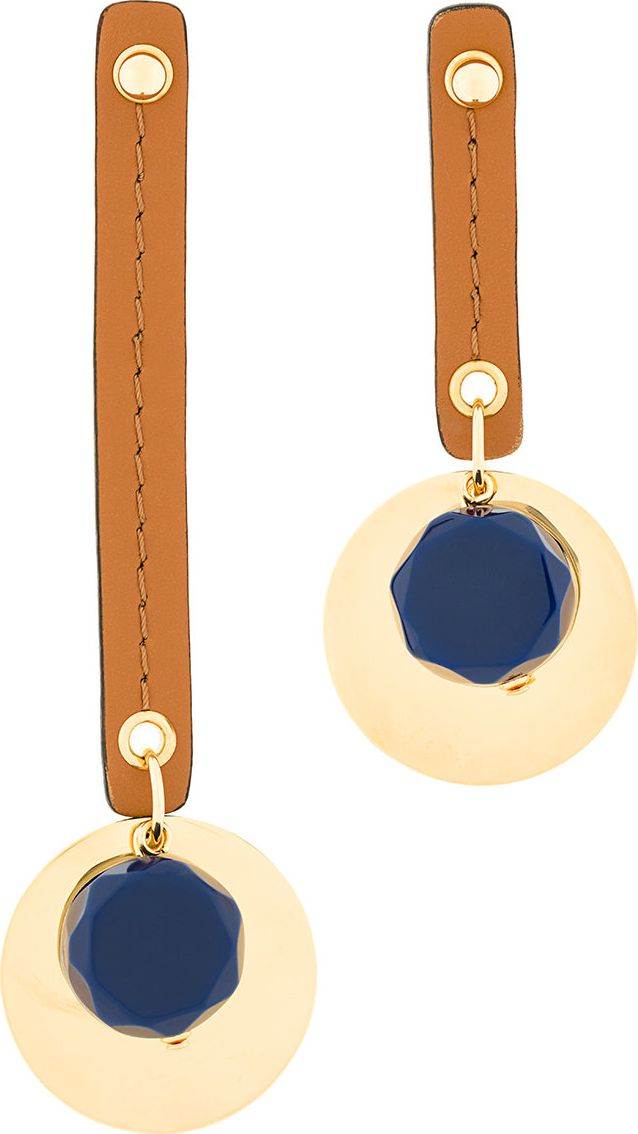 Marni - geometric drop earrings