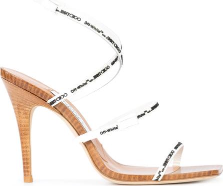 Off White Off-white x Jimmy Choo Jane 100 sandals
