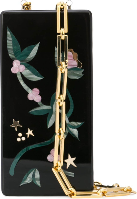 Edie Parker Floral mirror case