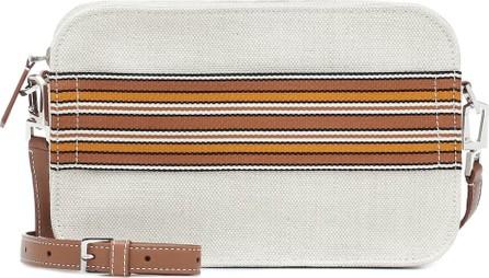 Loro Piana The Suitcase Stripe crossbody bag
