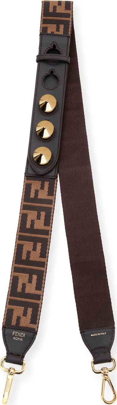 Fendi Strap You FF Century Calf Shoulder Strap for Handbag