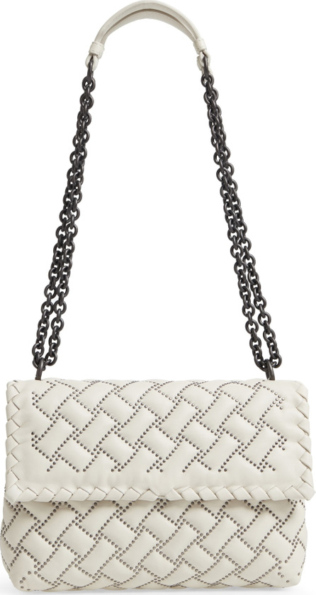 Bottega Veneta Small Olympia Studded Leather Shoulder Bag