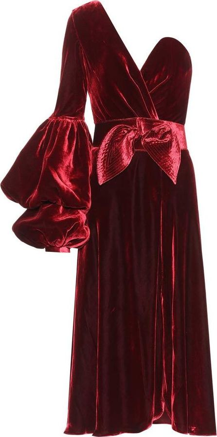 Johanna Ortiz Sabina velvet dress