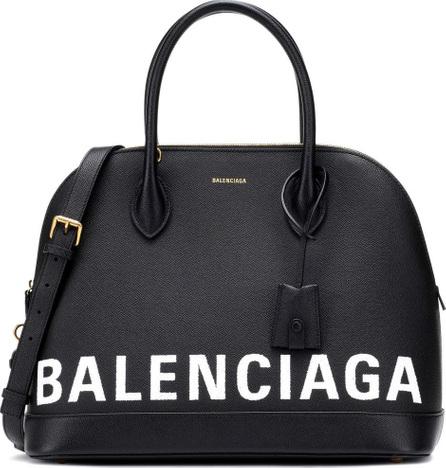 Balenciaga Ville M leather tote