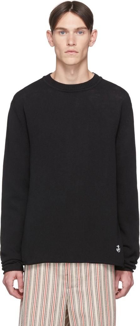 Jil Sander Black Knit Sweatshirt