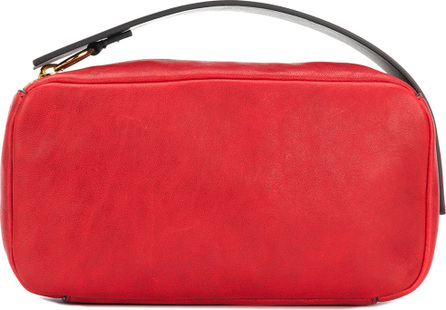 Marni Logo embossed clutch