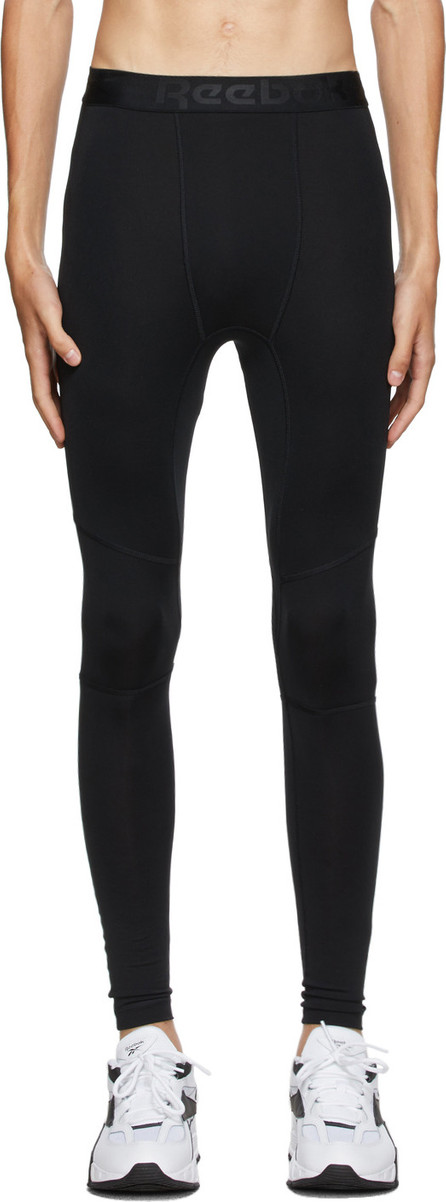 Reebok Black Workout Ready Compression Tights