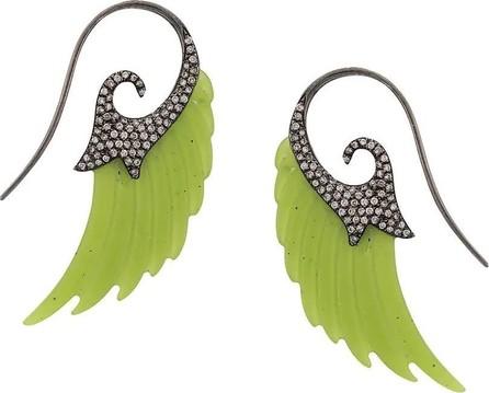 Noor Fares Jade Fly me to The Moon Earrings