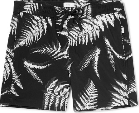 Onia Charles Short-Length Printed Swim Shorts