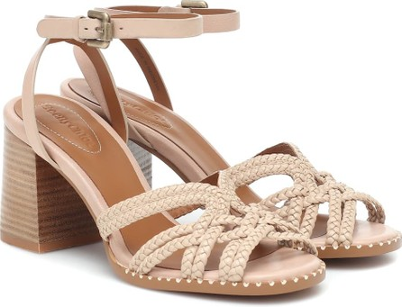 See By Chloé Braided-leather sandals