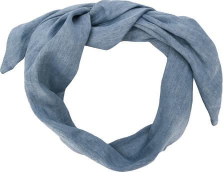 Cult Gaia Chambray head scarf
