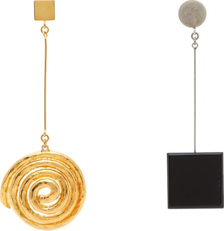 Jacquemus Le Carre drop earrings