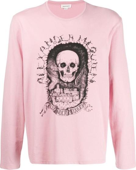 Alexander McQueen Long sleeve skull T-shirt