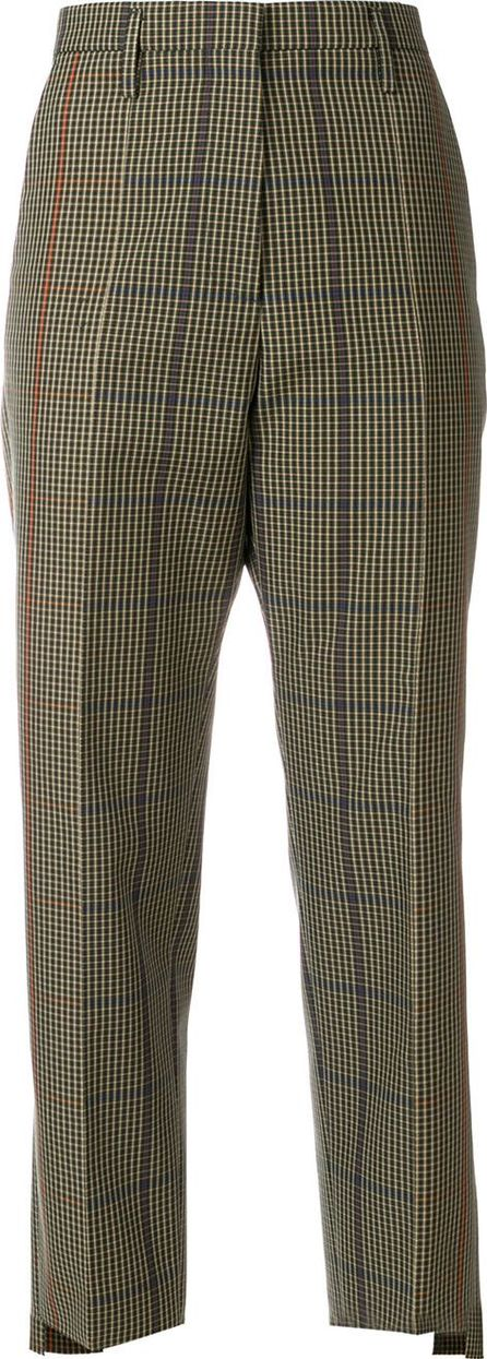 Golden Goose Deluxe Brand checked straight trousers