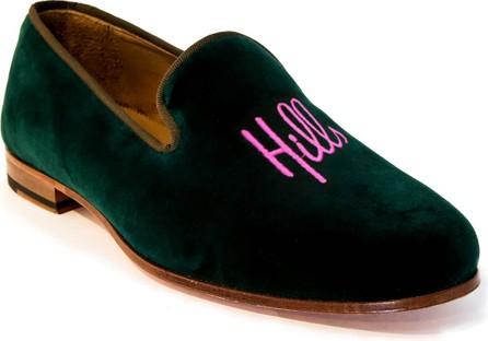 Romero + McPaul Men's Beverly Hills Velvet Loafers