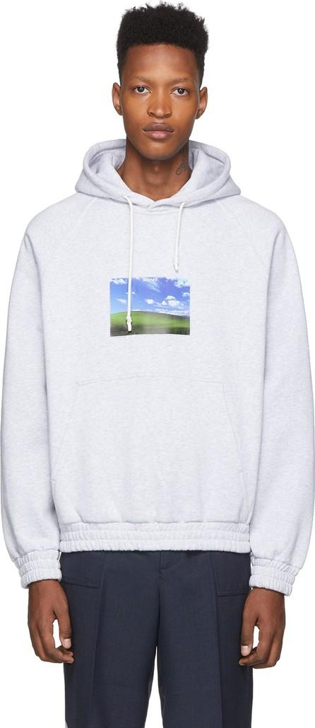 Sunnei Grey Bliss Print Hoodie