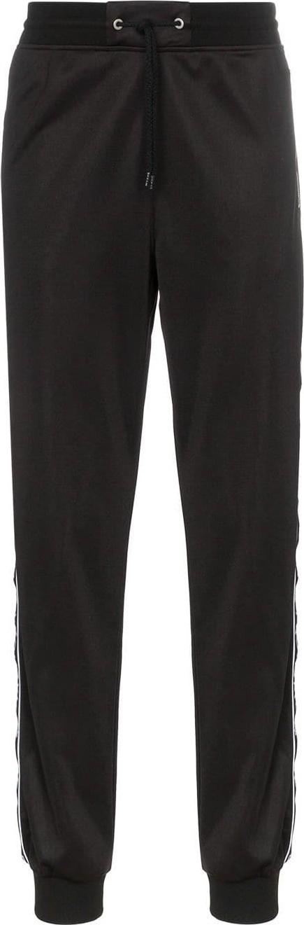 Givenchy Ticker logo stripe track pants