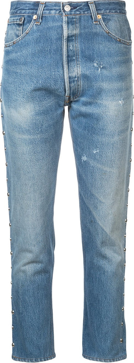 RE/DONE Faded slim fit jeans
