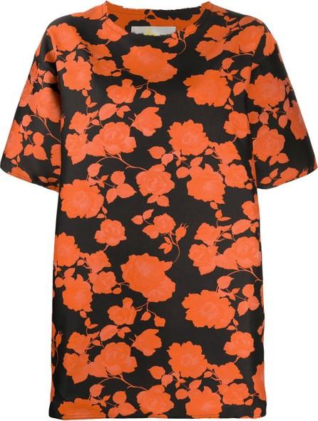 Marques'Almeida Floral print T-shirt dress