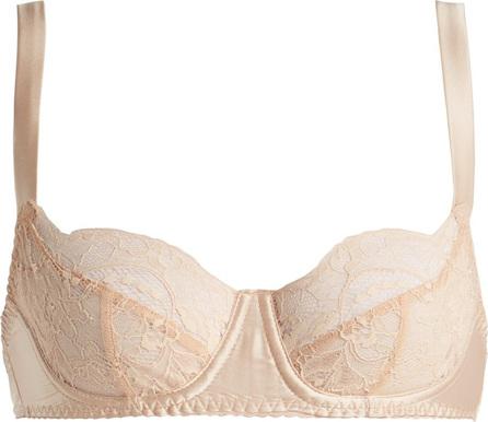 Fleur of England Signature lace balconette bra