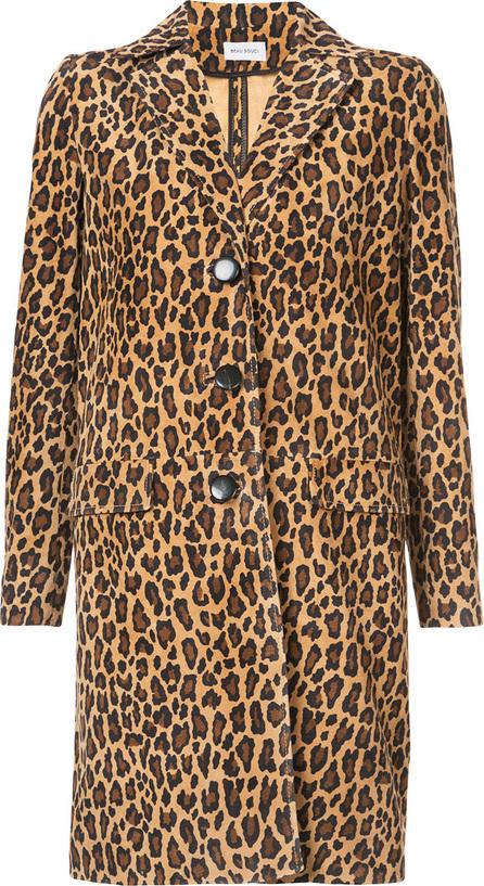 Beau Souci Roc leopard coat