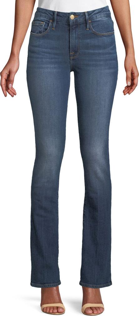 FRAME DENIM Le Mini Boot-Cut Skinny Jeans