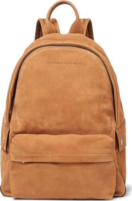 Brunello Cucinelli Full-Grain Nubuck Backpack