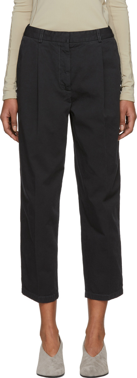 Acne Studios Black Tabea Co Chino Trousers