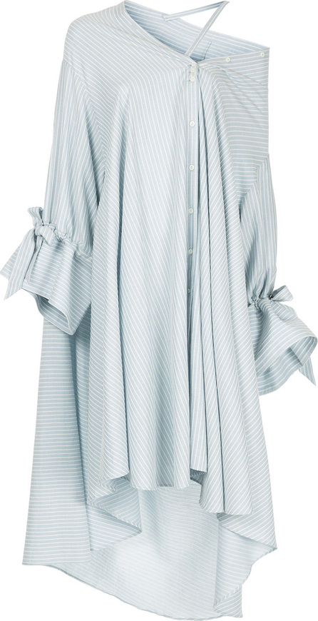 Palmer / Harding Asymmetric cold shoulder shirt dress