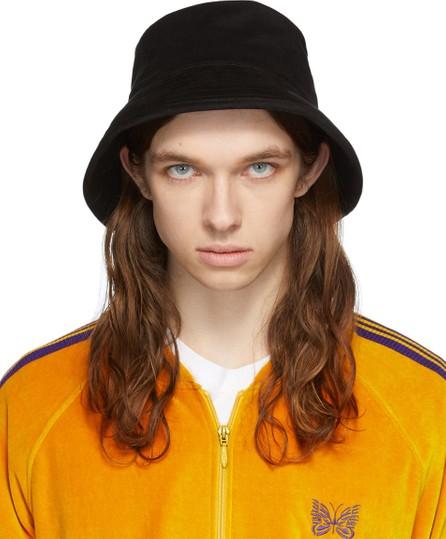 Needles Black Felt Crusher Hat
