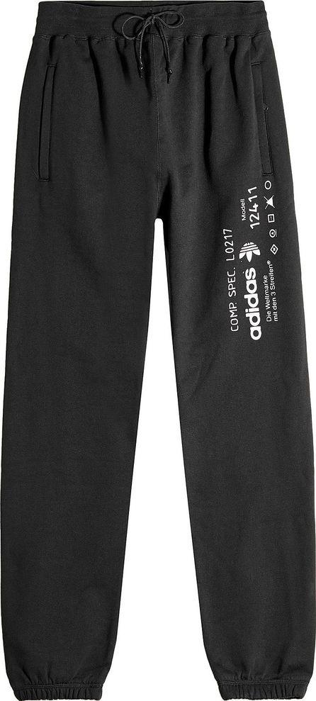 Adidas Originals by Alexander Wang Printed Cotton Sweatpants
