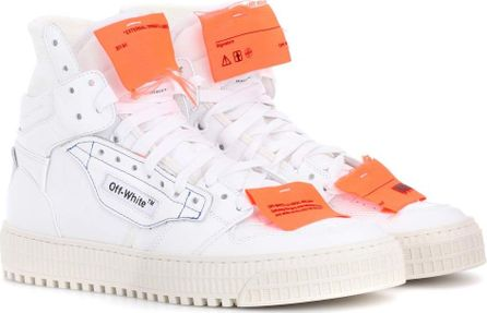 Off White Exclusive to mytheresa.com – leather sneakers