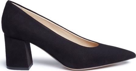 Fabio Rusconi 'Ecci' chunky heel suede pumps
