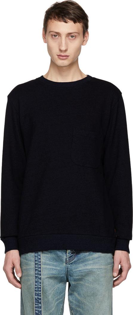 Blue Blue Japan Indigo Yarn Dyed Sweatshirt