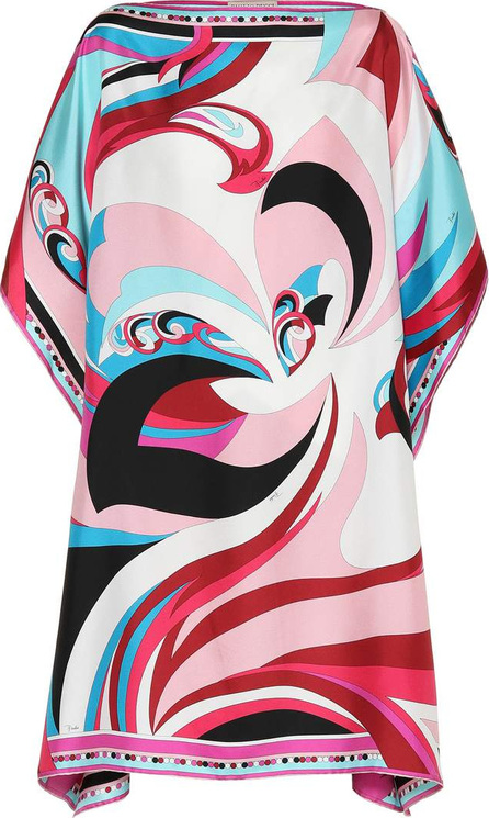 Emilio Pucci Printed silk minidress