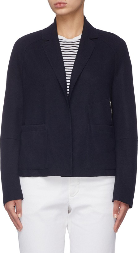 Barena 'Virgilia' zip pocket virgin wool blend melton blazer