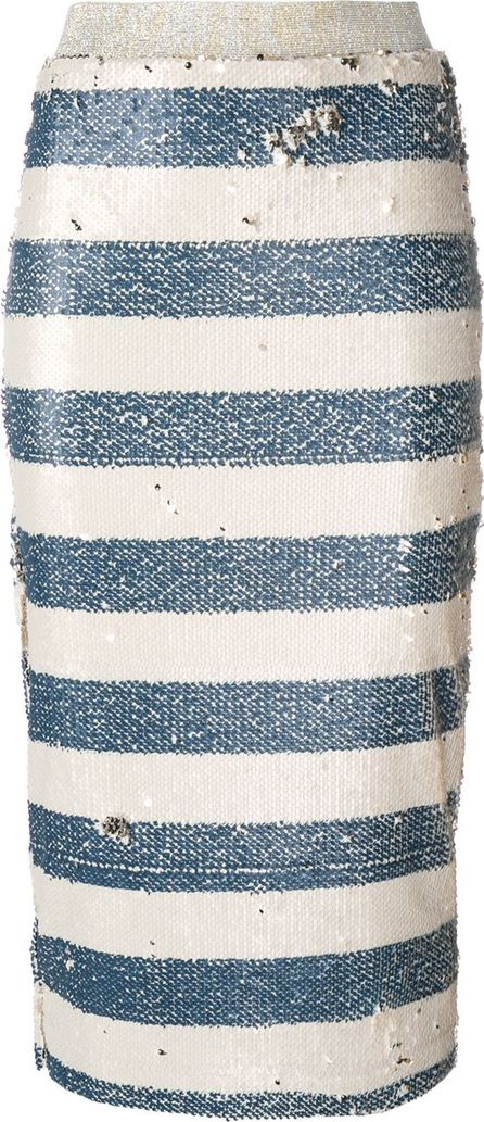 Essentiel Antwerp striped pencil skirt