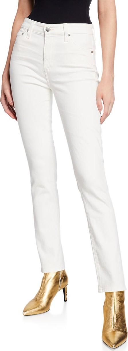 AG Jeans The Mari High-Rise Straight-Leg Jeans