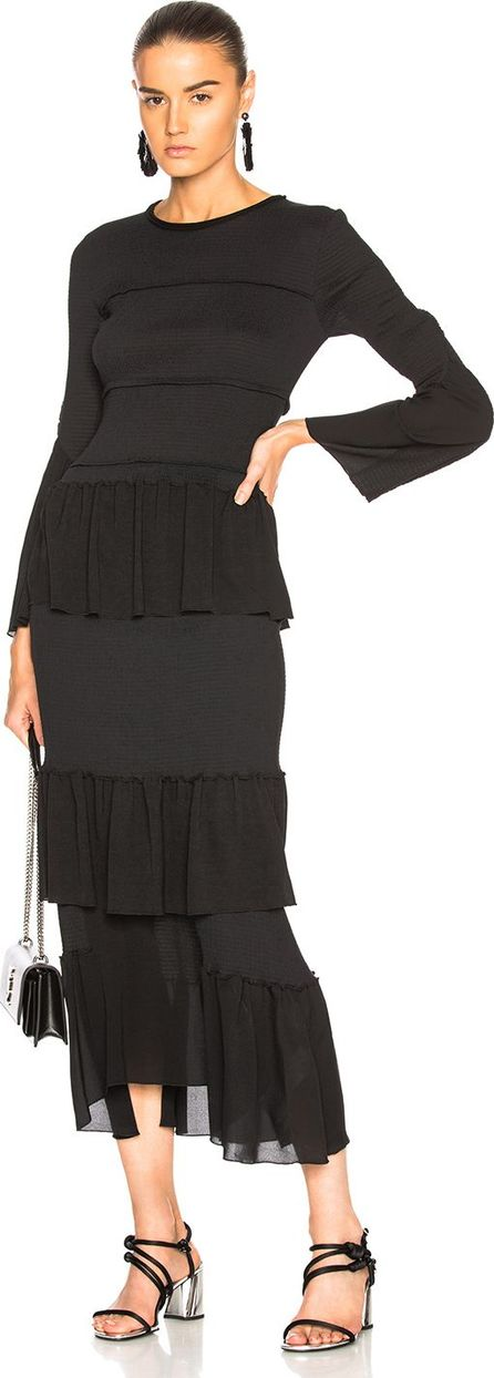 3.1 Phillip Lim Smoked Tiered Dress