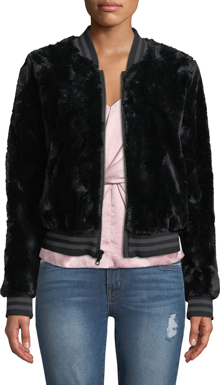 Bailey 44 Back Country Sporty Faux-Fur Bomber Jacket