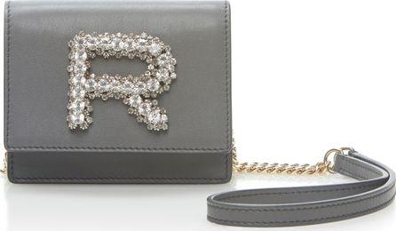 ROCHAS Mini Crystal-Embellished Leather Shoulder Bag