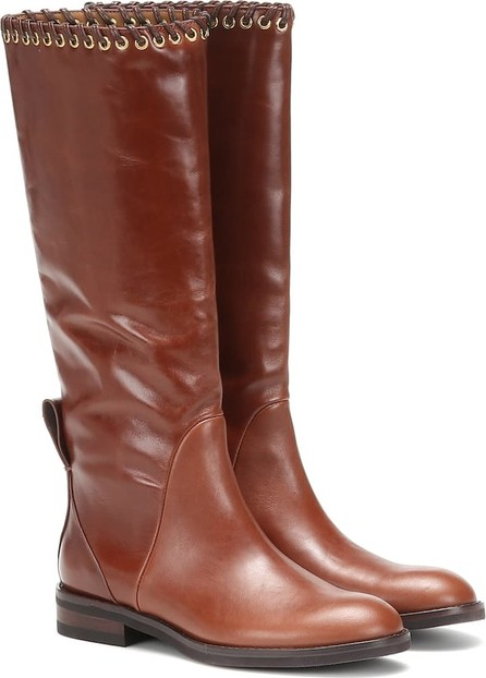 See By Chloé Helen leather knee-high boots